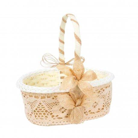 Rustic Flower Basket