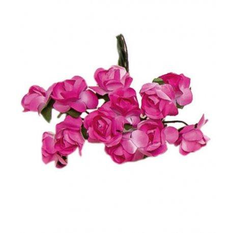 Paper Flowers Dusky Pink