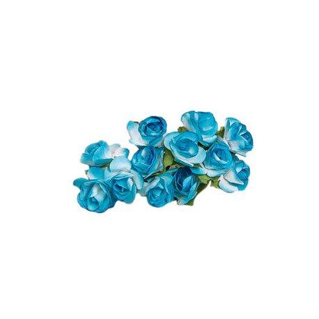 Paper Flowers Blue