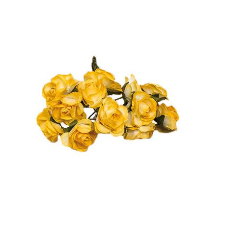 Paper Flowers Yellow