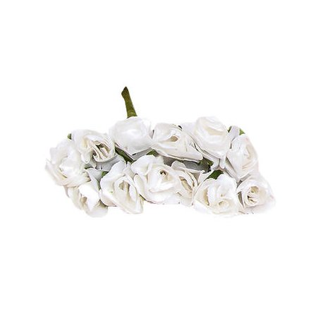 Paper Flowers White