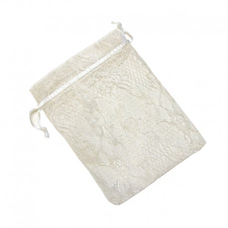 Organza Favour Bags White
