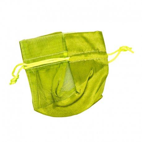 Green Organza Bags