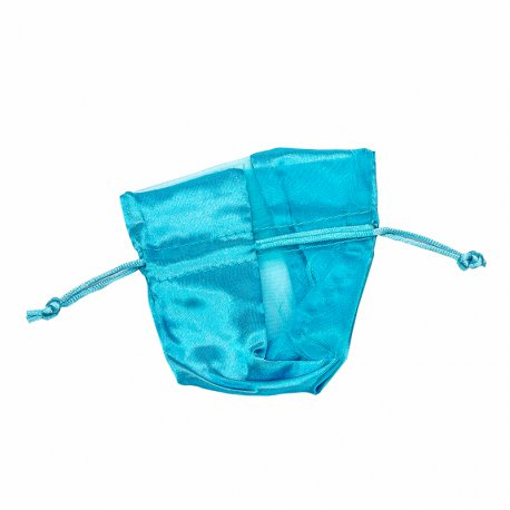 Organza Pouches Turquoise
