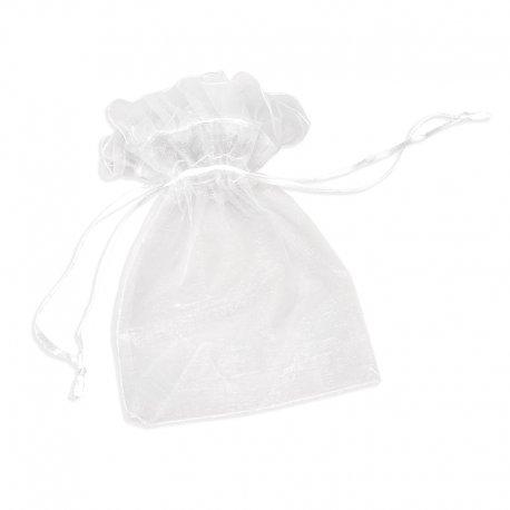 Organza Bags White 10 x 8