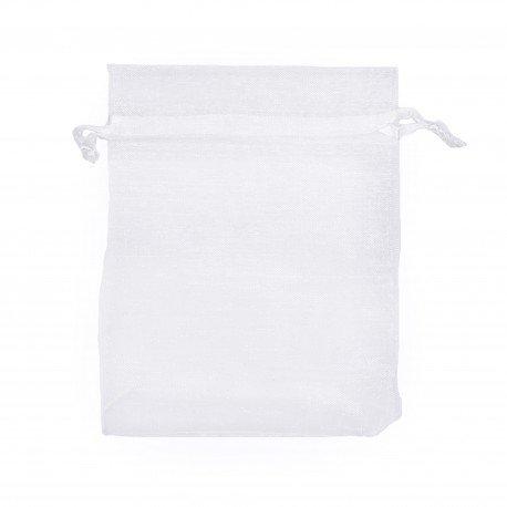Organza Bags White 12 x 9