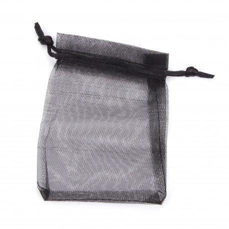 Organza Bags Black 12 x 9