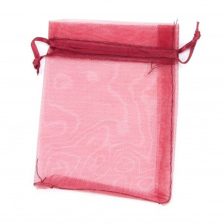 Organza Bags Bordeaux 12 x 9