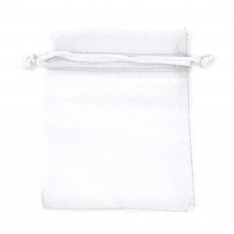 Organza Bags Silver-Grey 12 x 9