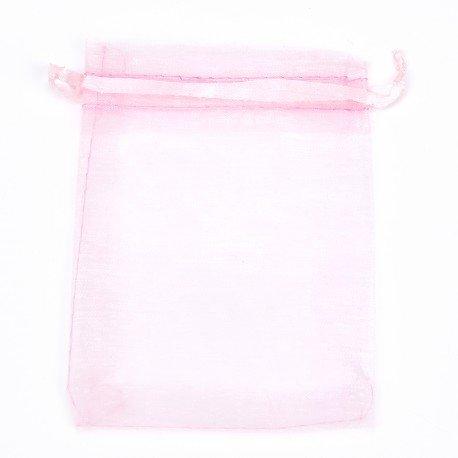 Organza Bags Light Pink 12 x 9
