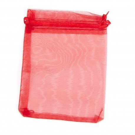 Organza Bags Red 12 x 9