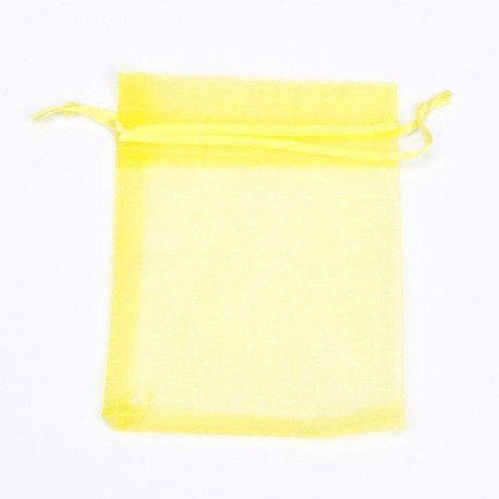 Organza Bags Yellow 10x 7.5