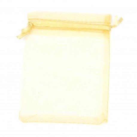 Organza Bags Golden 8 x 6