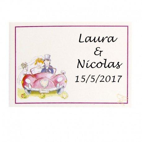 Adhesive Wedding Labels