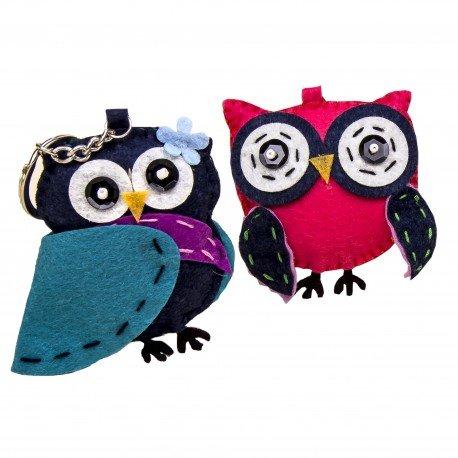Original Owl Keyrings