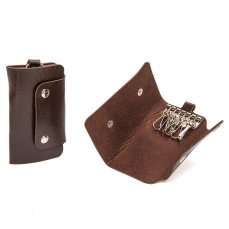 Faux Leather Key Holder