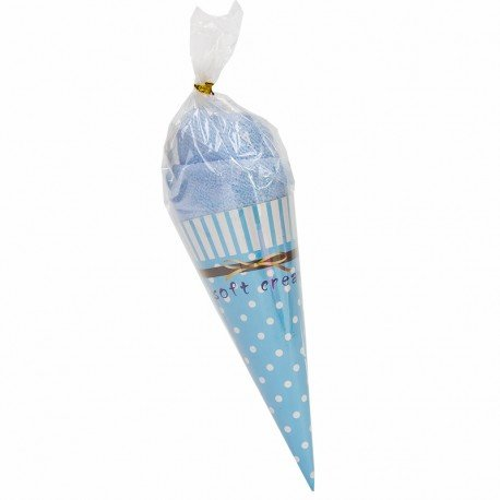 Ice Cream Towels Blue