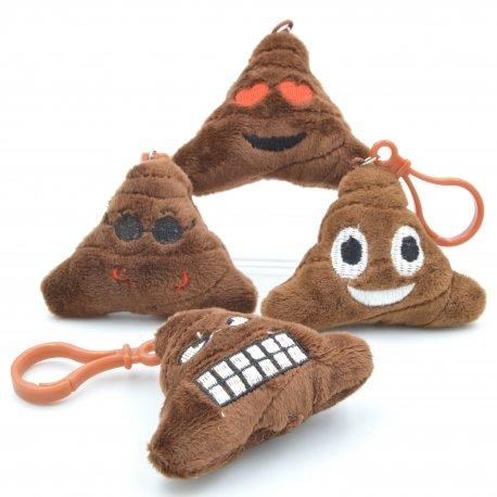 Poop Emoji Keyrings