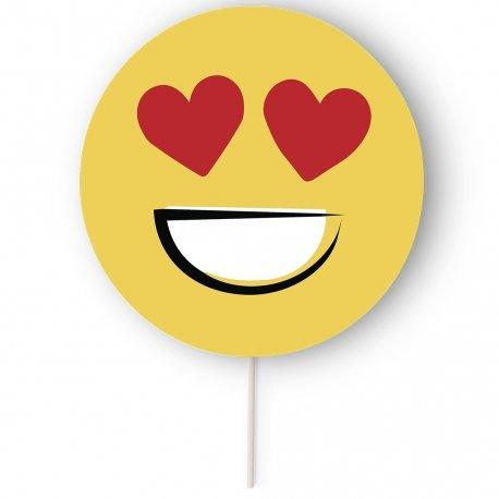 Emoji Fans On A Stick