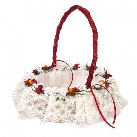 Floral Wedding Basket