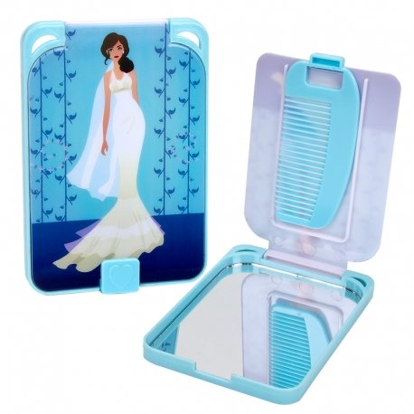 Compact Mirrors With Comb